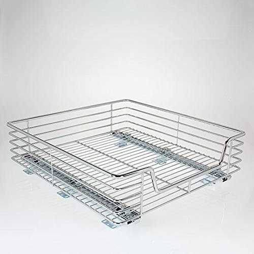 chrome cabinet shelf - 9