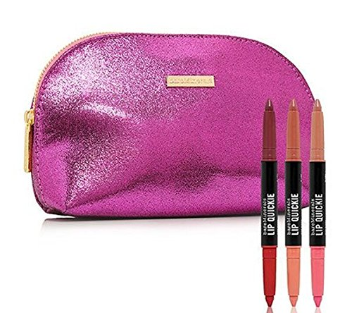 (bareMinerals Pretty Pairs Dual-End Lip Quickie Trio and Clutch)