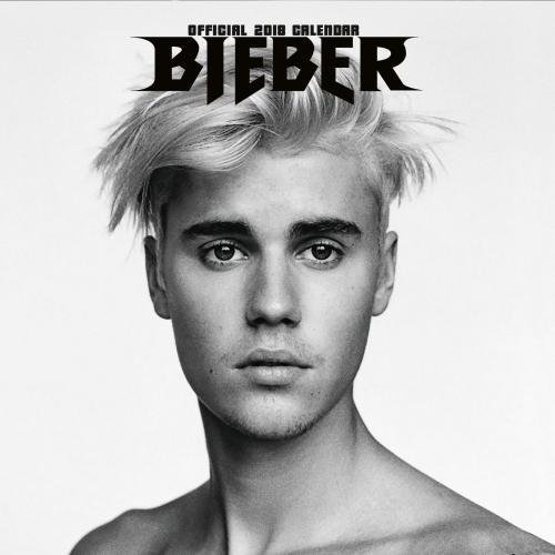 Justin Bieber Official 2018 Calendar - Square Wall Format
