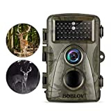 BOBLOV Trail Camera 12MP 1920x1080P Video Recording Hunting Game Cam 0.6s Trigger Time 940nm Night Vision Wildlife Monitor (CT007 12MP 0.6S)