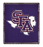 "50"" x 60"" NCAA Stephen F. Austin State University Afghan Throw Blanket"