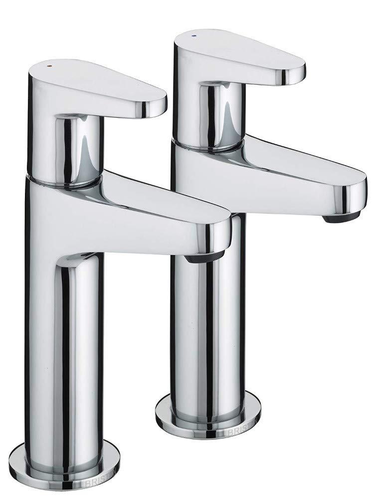 Water Taphigh Neck Kitchen Pillar Taps Chrome