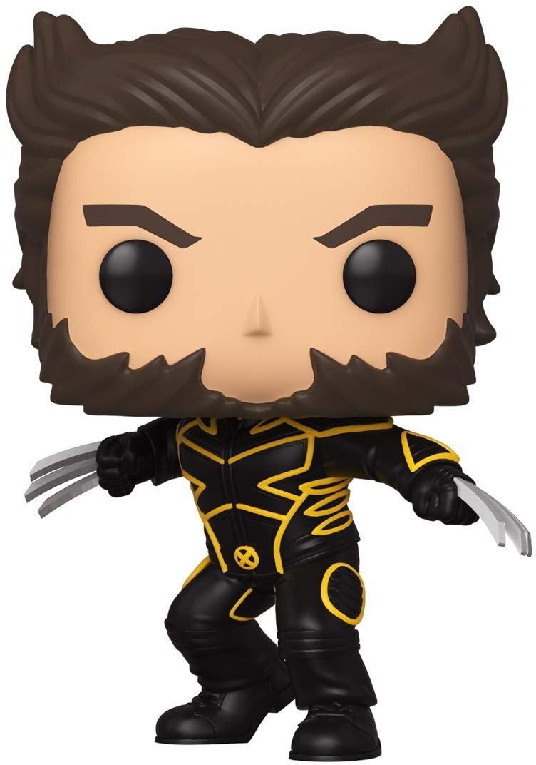 Funko 49282 POP Marvel: X-Men 20th-Wolverine In Jacket Collectible Toy, Multicolour