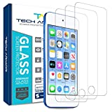 Tech Armor HD Clear Ballistic Glass Screen Protector for Apple iPod Touch 2019 (7th / Latest Generation) [3-Pack]