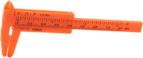 Orange Measuring Gauge