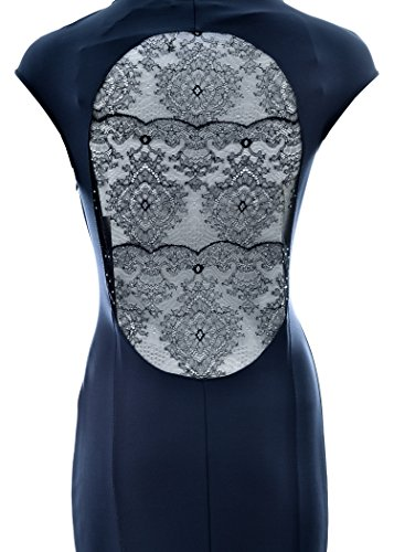 Damen blau M Blumarine Kleid dunkelblau dWzFnx4UF