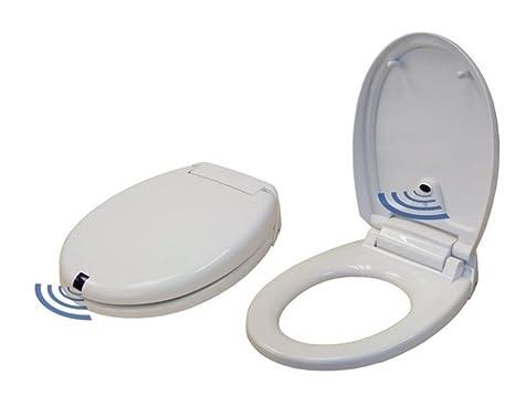 Sedili Wc Per Disabili : Senza contatto automatico di apertura chiusura sedile wc: amazon.it
