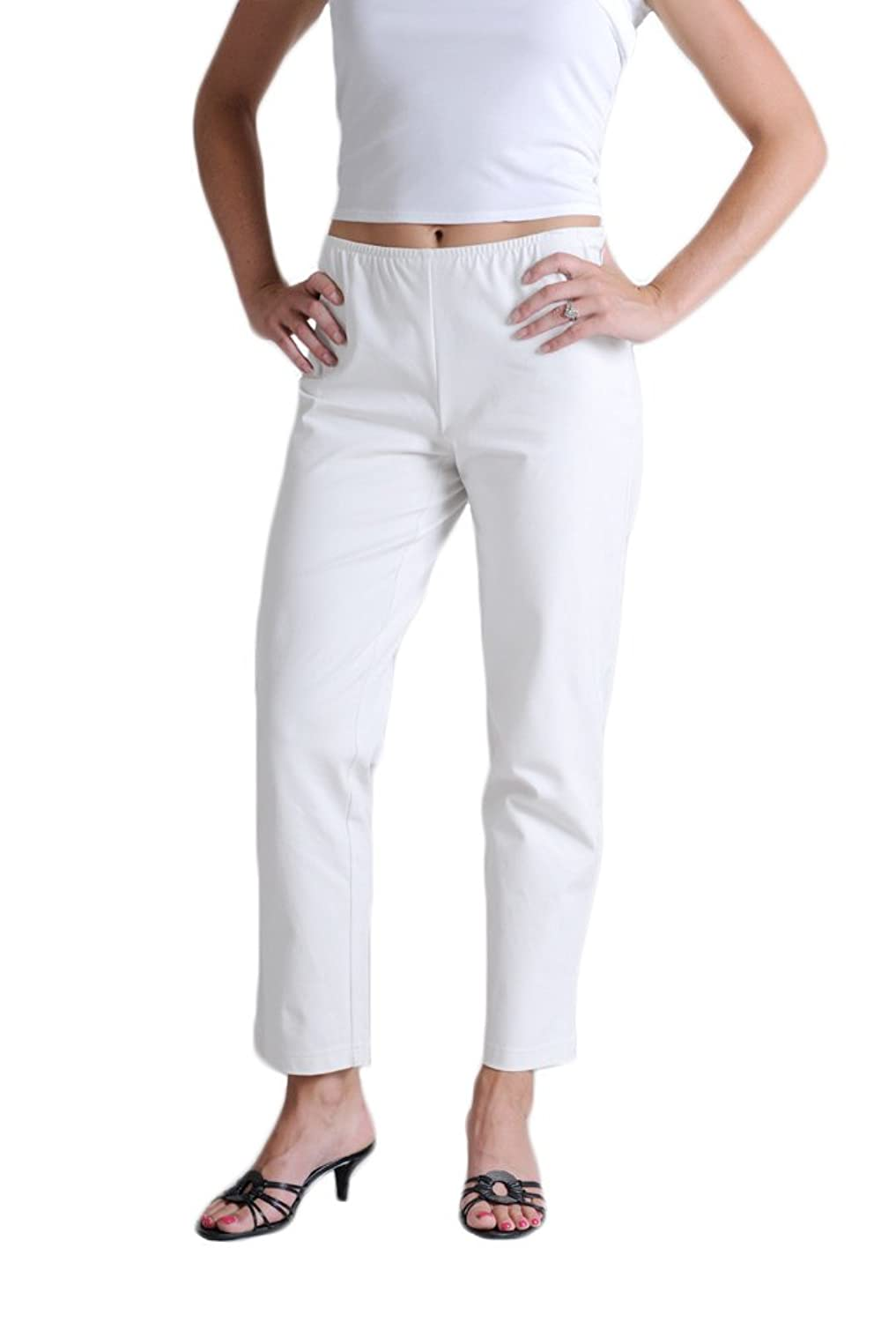 d3a21f42c05fd hot sale Eileen Fisher Organic Cotton Stretch Twill Slim Ankle Pant ...