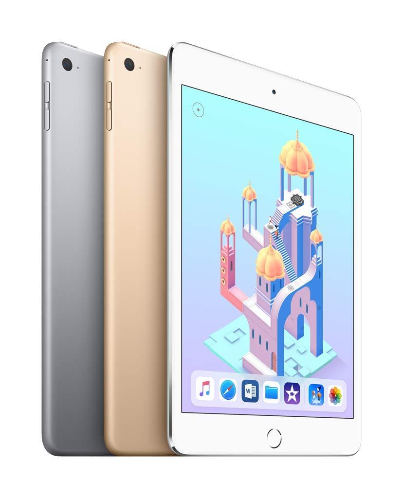 Apple Ipad Mini 4 Wi Fi 128gb Silver Amazon Devices Pro 105 512gb New Tablet Wifi Only