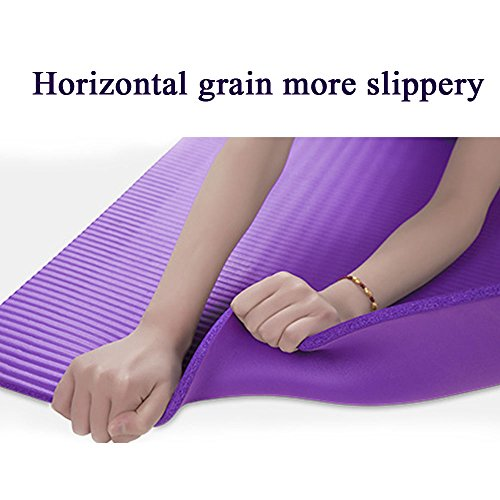 Baleauty 1 2 Quot Extra Thick Nbr Yoga Mat With Carrying Strap