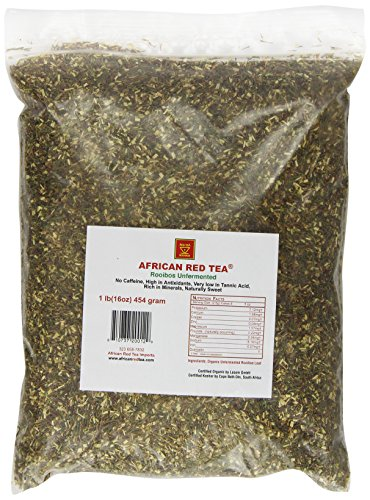 African Red Tea Imports African Red Tea, unfermented, 1-Pound