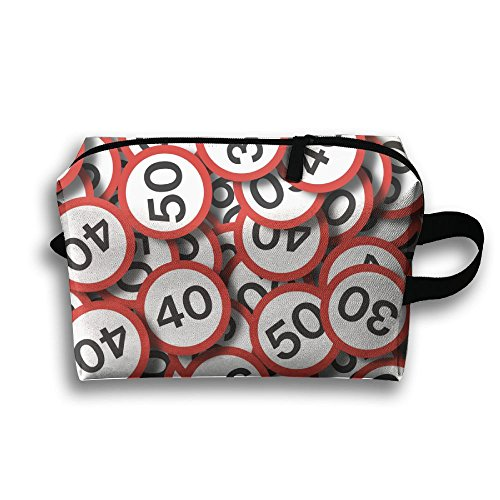 Special Speed Limit Review Travel Cosmetic Bags Small Makeup Clutch Pouch Cosmetic And Toiletries Organizer Bag