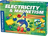 2 Item Bundle: Thames & Kosmos 620417 Electricity & Magnetism Science Experiment Kit + Free Kids Coloring Book
