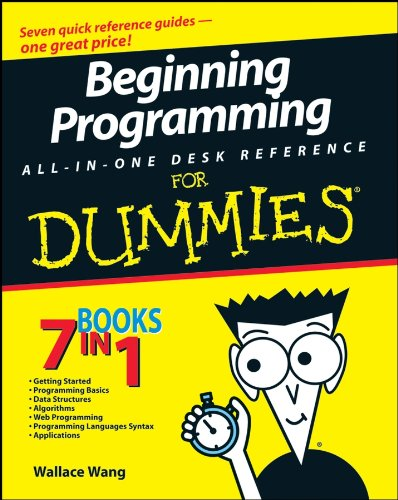 Beginning Programming All-In-One Desk Reference For Dummies (Best Science Fair Projects Of All Time)