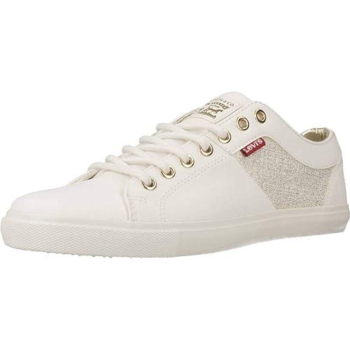 Sneakers Blancas Levis 227843 Mujer