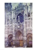 Rouen Cathedral - Poster by Claude Monet (18x24)