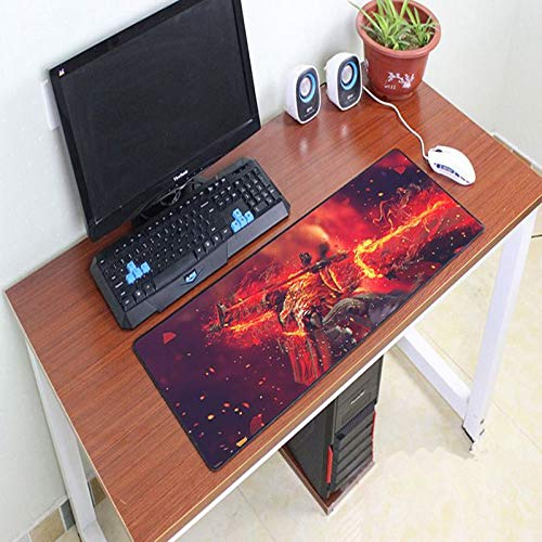 AURORBOY 800X300Mm Gaming Large Size Mouse Pad Lock Edge Mouse Pad Non-Slip Laptop Computer Notebook Mouse Mats Gamer Mousepad for Cs Go