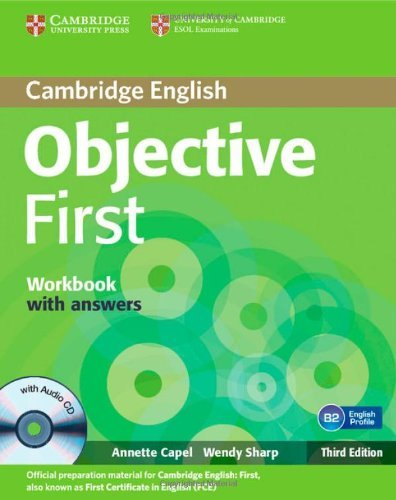 Objective First 3rd Workbook with Answers with Audio CD: Amazon.es ...
