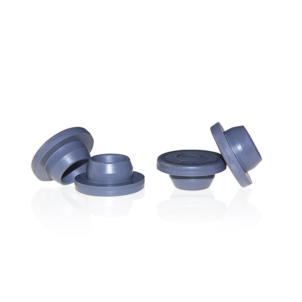 ALWSCI Headspace Septa and Stoppers, 20mm Diameter, Gray Butyl (Case of 100)