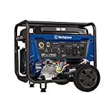 Westinghouse WGen7500 Portable Generator w/ Electric Start - 7500 Rated Watts & 9000 Peak Watts - Gas Powered - CARB Compliant