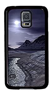 funny Samsung S5 cover Arctic Landscape PC Black Custom Samsung Galaxy S5 Case Cover