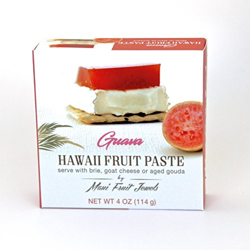 Hawaii Fruit Paste, Guava, 4-Ounce, Preservative-Free