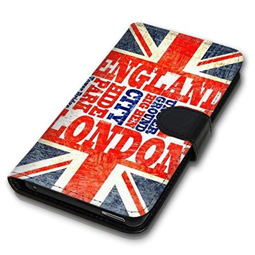 Wallet Book Style Flip Handy Tasche Case Schutz Hülle Schale Motiv Etui für Apple iPhone 6 Plus / 6S Plus - Design Flip MVD369