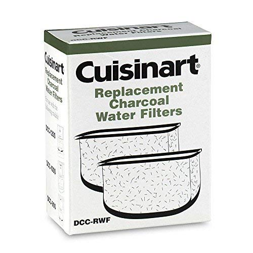 Cuisinart Replacement Charcoal Water Filters (Set of 2) (1) (Cuisinart Coffee Maker Replacement Charcoal Water Filters)