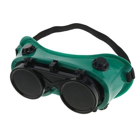 nouler Gafas de Soldadura Juler Gafas Protectoras Ajustables de ventilación indirecta contra Salpicaduras