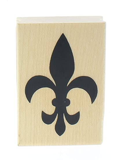Image Unavailable Not Available For Color Inkadinkado Fleur De Lis Stamp