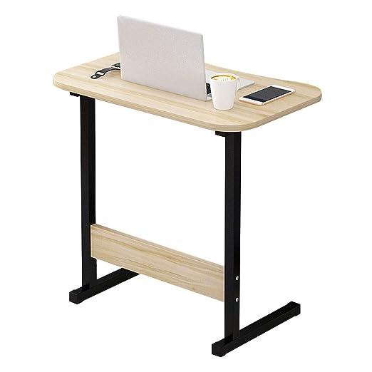 Escritorio para Laptop Tipo C Arce Madera de Cerezo Bandeja ...