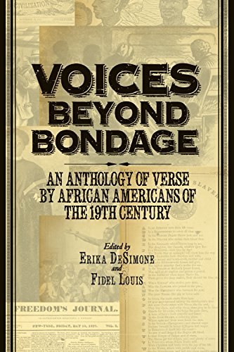 Search : Voices Beyond Bondage: An Anthology of Verse by African Americans of the 19th Century