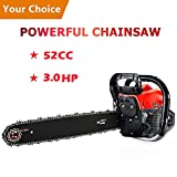 Best Gasoline Chainsaws - Meditool 3.0HP 52CC Chainsaw, 20-Inch Petrol ChainSaw Review