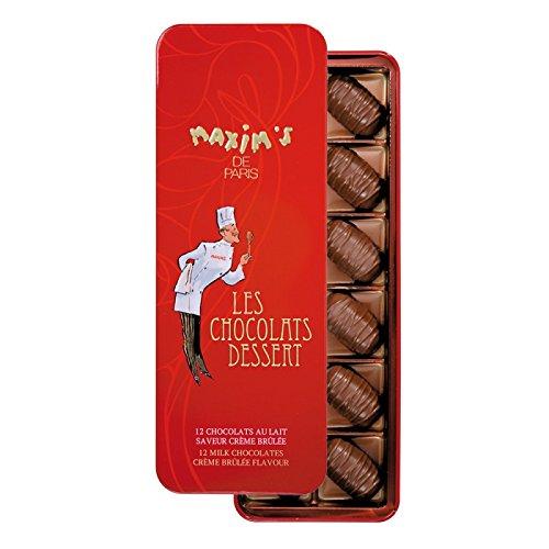 Les Chocolats Dessert Tiramisu - Maxim's France (Milk Chocolates Creme Brulee) (Dessert Tiramisu)