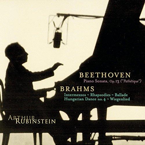 Rubinstein Collection, Vol. 10: Beethoven: Pathétique Sonata; Brahms: Intermezzos, Rhapsodies, etc.