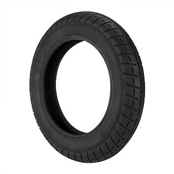 Winbang Neumático para Scooter Eléctrico, Paquete de 2 Ruedas de Goma Maciza de 10 Pulgadas Ruedas de Repuesto para Scooter Tubo Exterior del ...