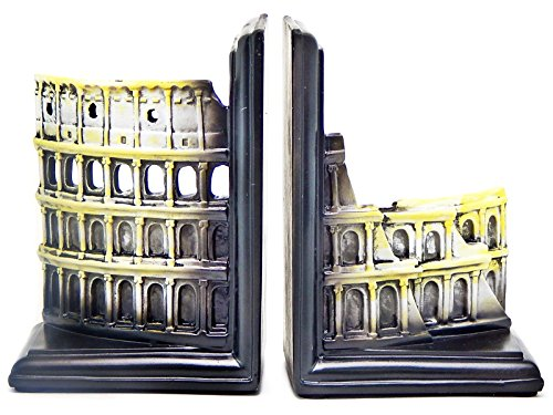 The Roman Colosseum Bookends Book Ends Rome Vintage Style Decorative Booksends Paper Weights