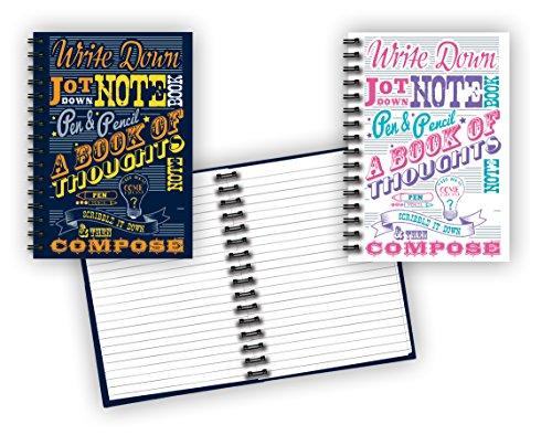 Spiral Bound Notebook Notepads Total