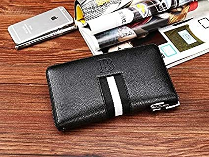 1853540d7782 Amazon.com: HeroStore Unique Design Leather Men Wallets Combination ...