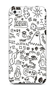 2739232K44411603 Forever Collectibles Doodle Art Hard Snap-on Iphone 5c Case
