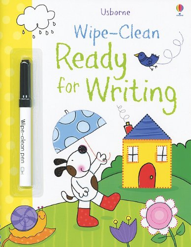 Wipe-Clean Ready for Writing (Usborne Wipe-Clean Books) PDF