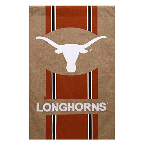 Cheap Evergreen NCAA Burlap House Flag (Texas Longhorns)