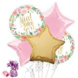 Costume SuperCenter Floral Baby Shower Balloon Bouquet Kit