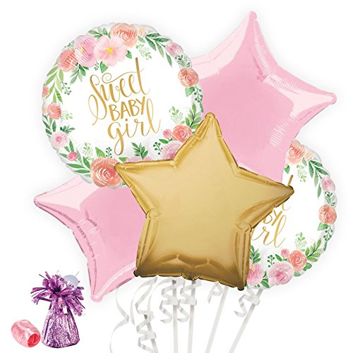 Costume SuperCenter Floral Baby Shower Balloon Bouquet Kit by Costume SuperCenter