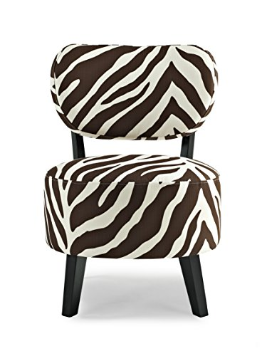 - Urban Home Furniture Radius Accent Chair, Truffle