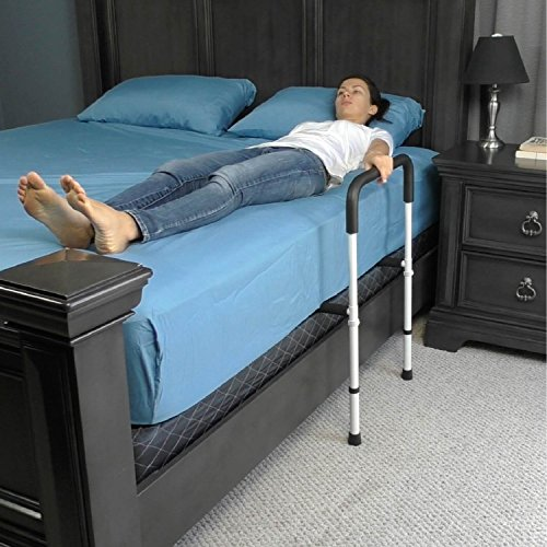 Elderly Bed Rails Bed Rail by Vive - Bed Assist Bar for Adults, Seniors ...