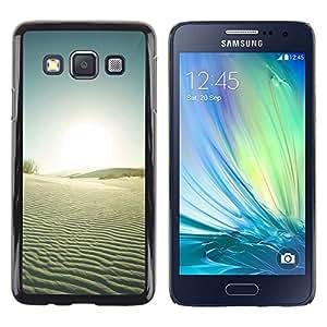 Paccase / SLIM PC / Aliminium Casa Carcasa Funda Case Cover - Nature Beautiful Forrest Green 34 - Samsung Galaxy A3 SM-A300