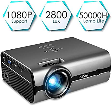 Amazon.com: Proyector Mini LED + proyector de vídeo LCD ...