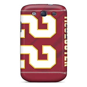 GG Fan Case Cover For Galaxy S3 - Retailer Packaging Kansas City Chiefs Protective Case