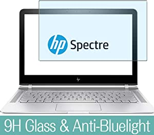 "Synvy Anti Blue Light Tempered Glass Screen Protector for HP Spectre 13-v100 / 108tu / v107tu / v122tu / v105na / v114tu / v106na / v104na / v111dx 13.3"" Visible Area Film Protectors"